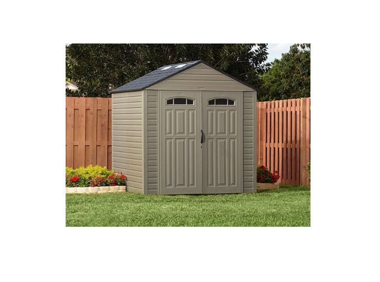 Rubbermaid Outdoor Storage Building Shed XL 7x7 325 Cubic Feet DURABLE