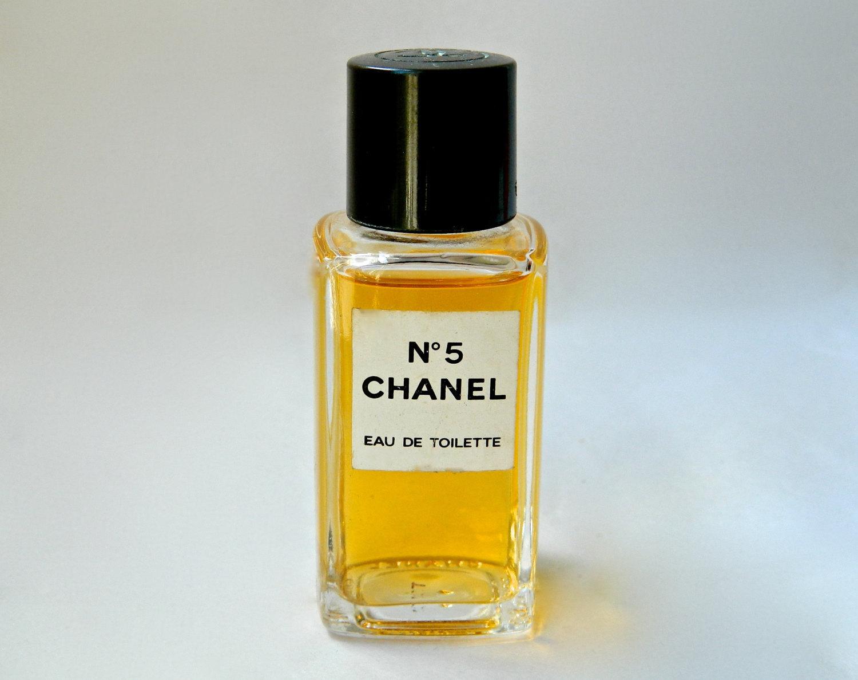 vintage chanel no 5 perfume eau de toilette 1 oz perfect now discontinued women. Black Bedroom Furniture Sets. Home Design Ideas