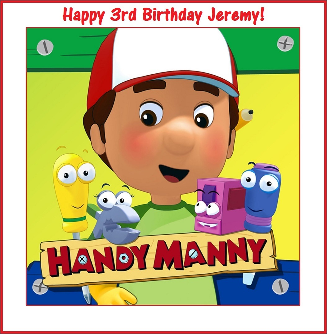 12 handy manny stickers party supplies decorations for Handy manny decorations