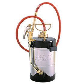 "B&G Stainless Steel PCO Sprayer 18"" Wand N 124-CC-18 B&G Pro 1 Gallon Sprayer"