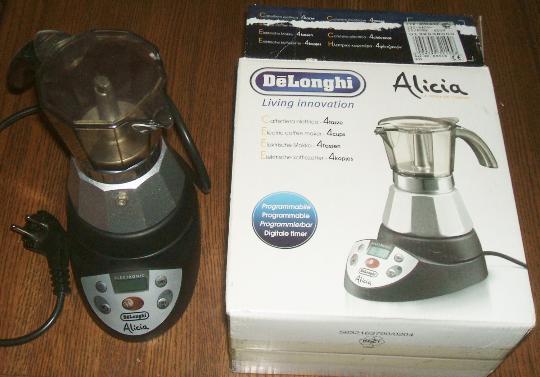 Espresso Coffee Maker Delonghi Moka Alicia and 10 similar items