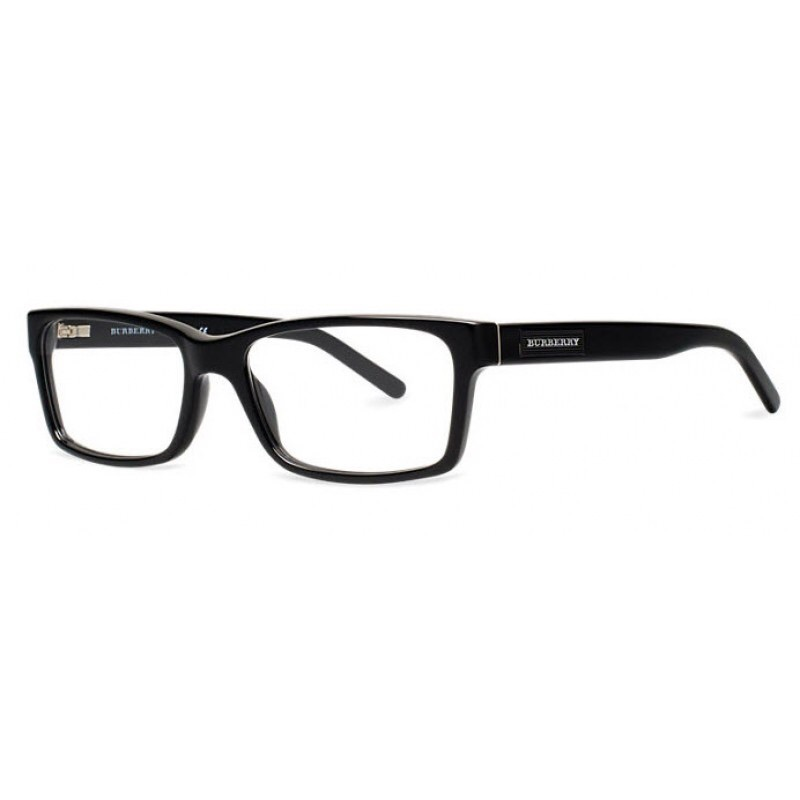 New Authentic Burberry BE2108 3001 Black Eyeglass Frame ...