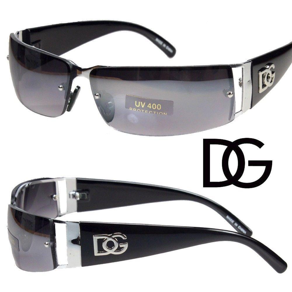 Rimless Glasses Nz : NEW DG MENS WOMENS RECTANGULAR RIMLESS DESIGNER SUNGLASSES ...