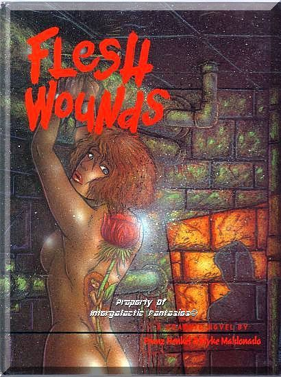 Flesh wounds graphic novel 1 1994 modern age diva for Flesh wound tattoo