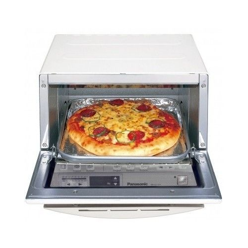 ... White FlashXpress Digital Toaster Broiler Oven 1300W - Toaster Ovens