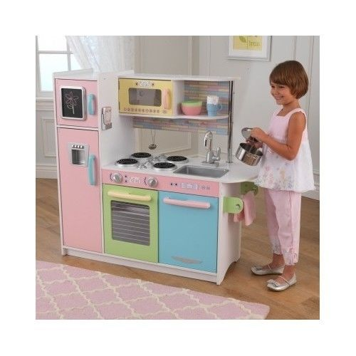 Realistic Play Kitchen Ultimate Corner With Lights And: Used Kidkraft Kitchen For Sale