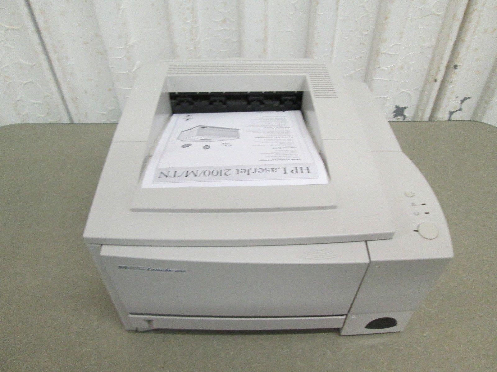 hp laserjet 2100 network printer c4170a printers. Black Bedroom Furniture Sets. Home Design Ideas