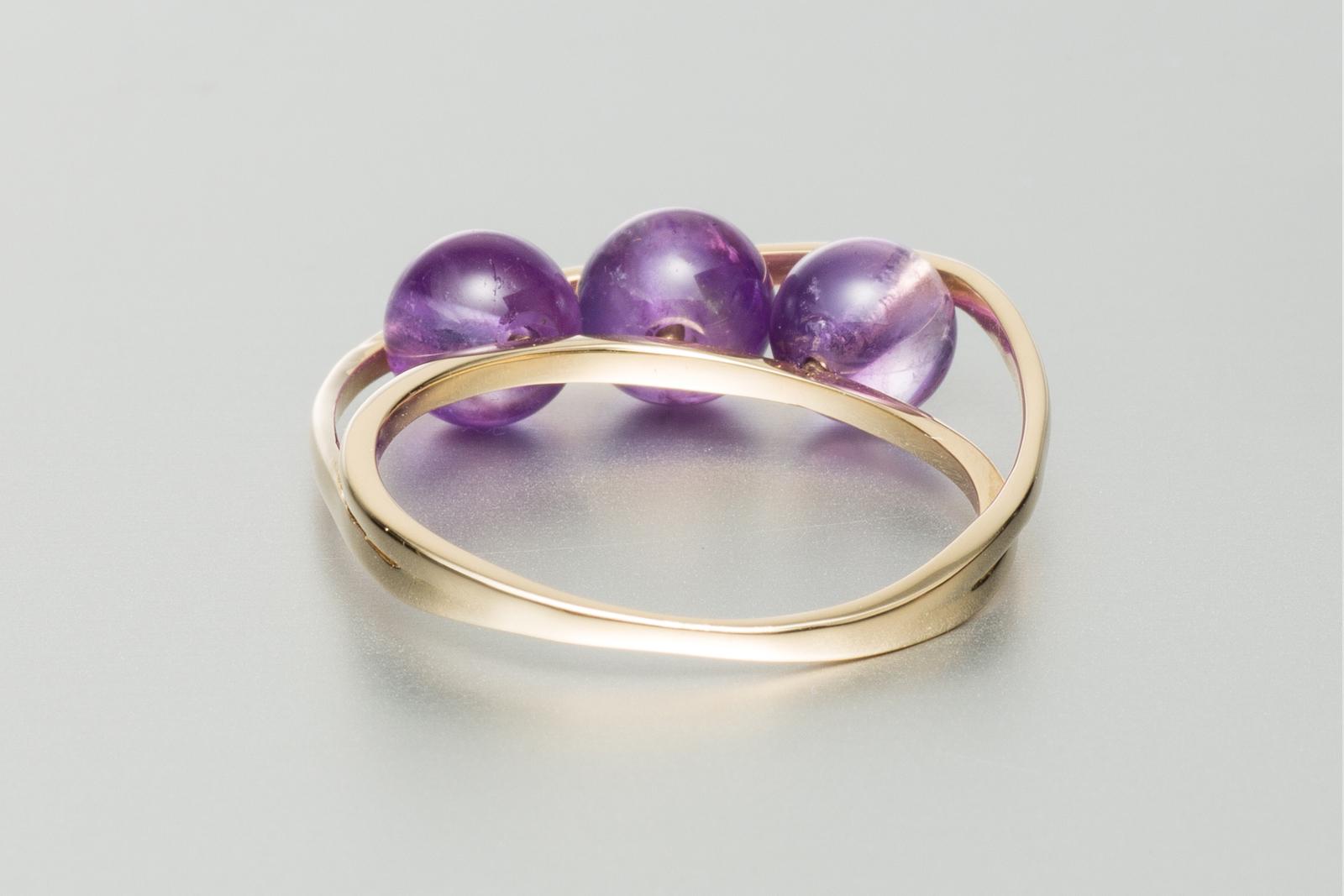amethyst engagement ring alternative engagement ring