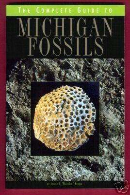 MICHIGAN FOSSILS Guide NEW 2006 Kchodl Book BJs