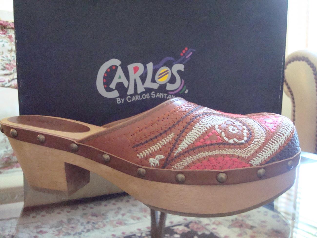 Carlos by Carlos Santana Women's 'Tribe' Clog Size 10 Bonanza