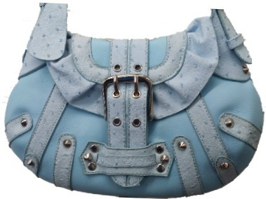 Home » @ The Boutique » Small Blue Leather Fashion Purse Handbag