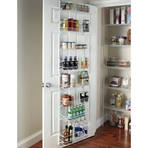 storage pantry kitchen food organizer door hanging rack