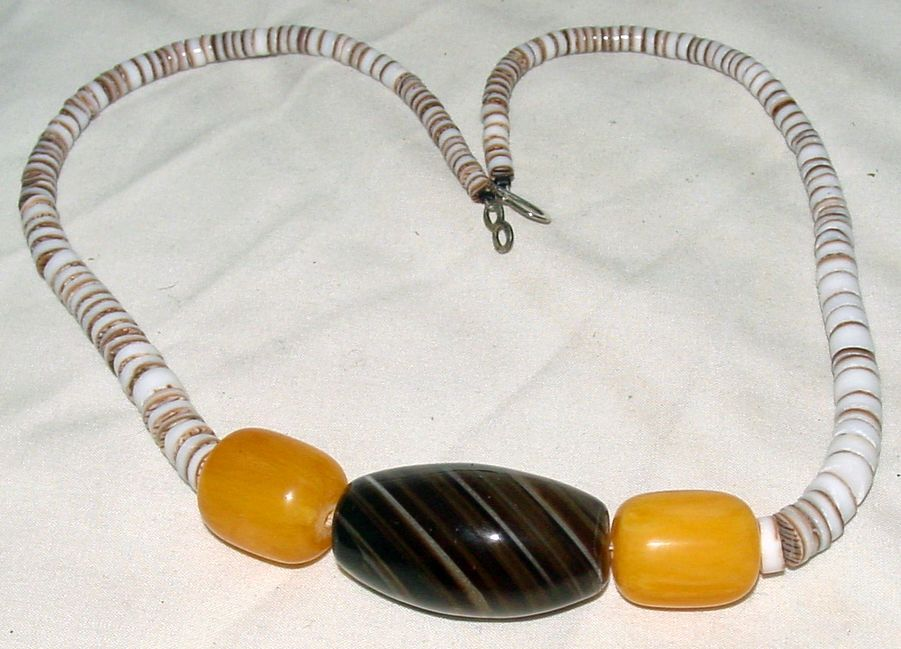 Beaded Necklace with Mixed Beads Bonanza