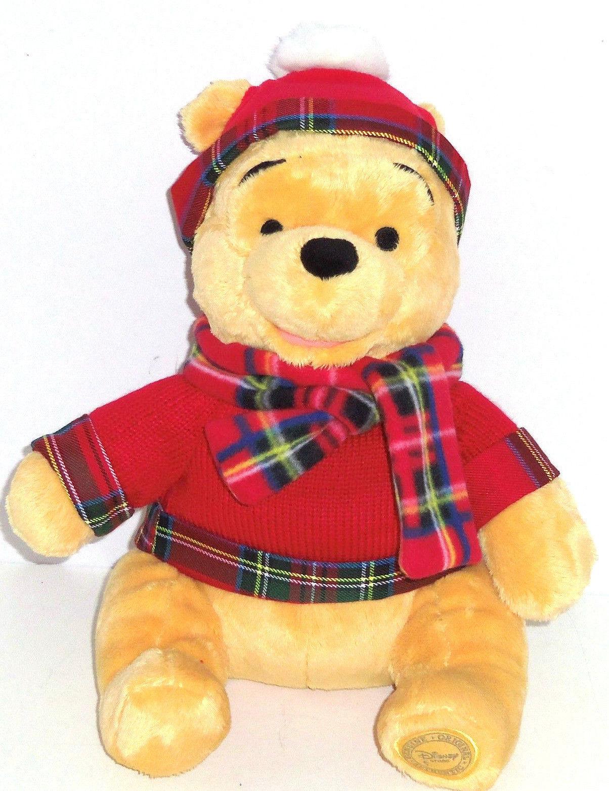 Winnie The Pooh Toys : Disney store winnie the pooh christmas plush toy new