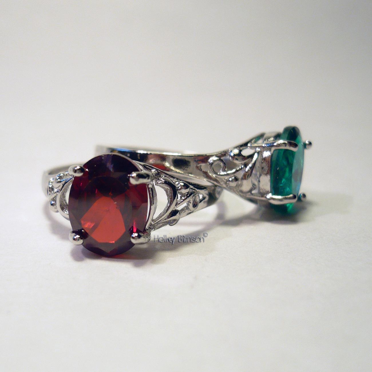 Gemstone Sterling Silver Ring   # 6 Bonanza