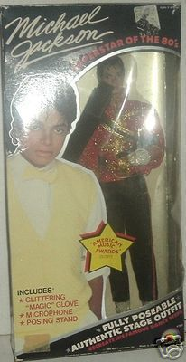 1984 LJN MICHAEL JACKSON Doll American Music Awards MIB