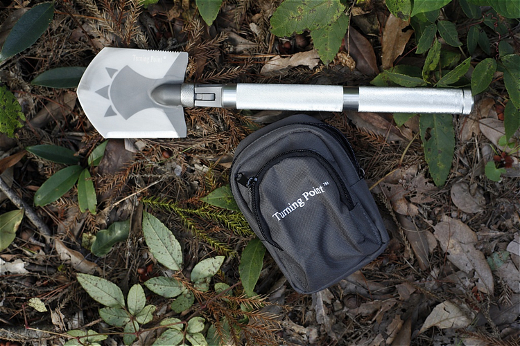 Multi-functional Outdoors Camping Hiking Survival Tools Shovel for Backpackers C