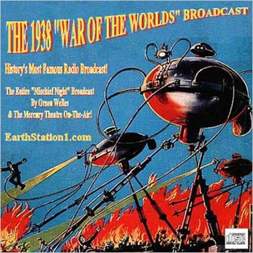 War Of The Worlds by Orson Wells Radio Broadcast CD