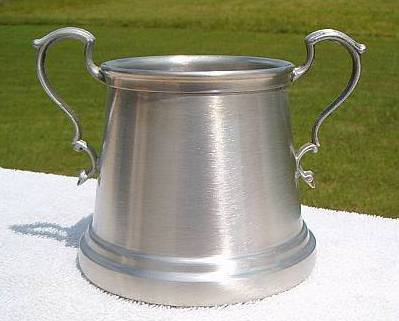 International Silver Co Americana Pewter Open Sugar Bowl  Other