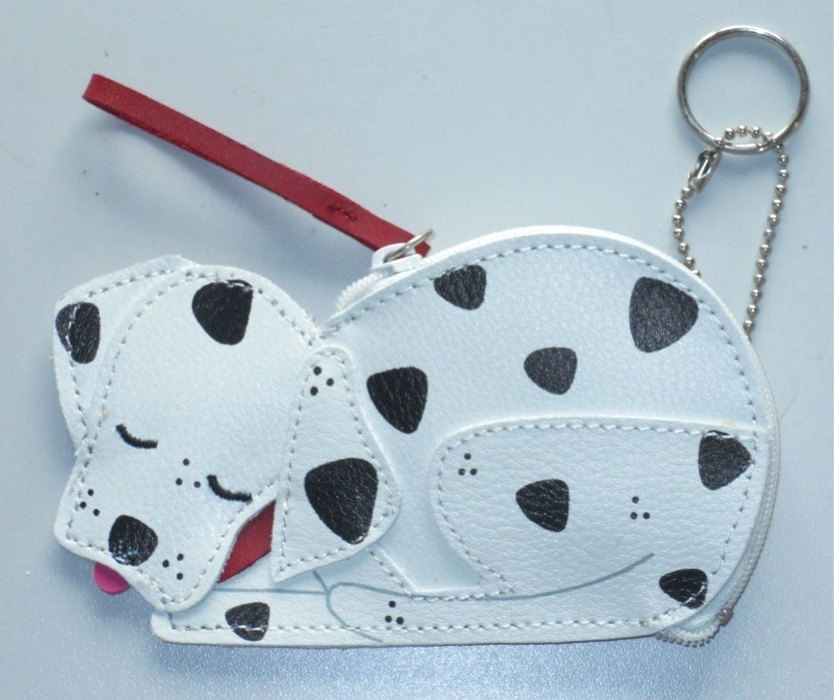 kitchen aid accessories new rolfs dalmatian leather coin change purse wristlet 2166