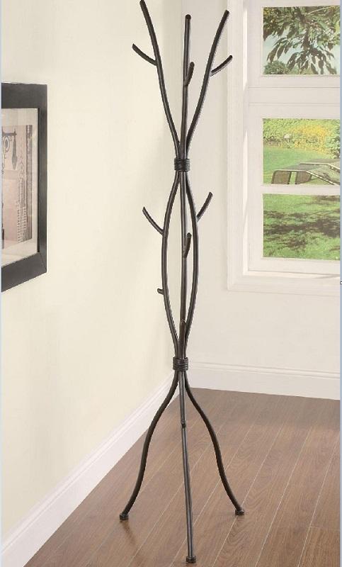 ... Hanger Hat Cap Umbrella Holder Metal Tree Branch - Coat & Hat Racks