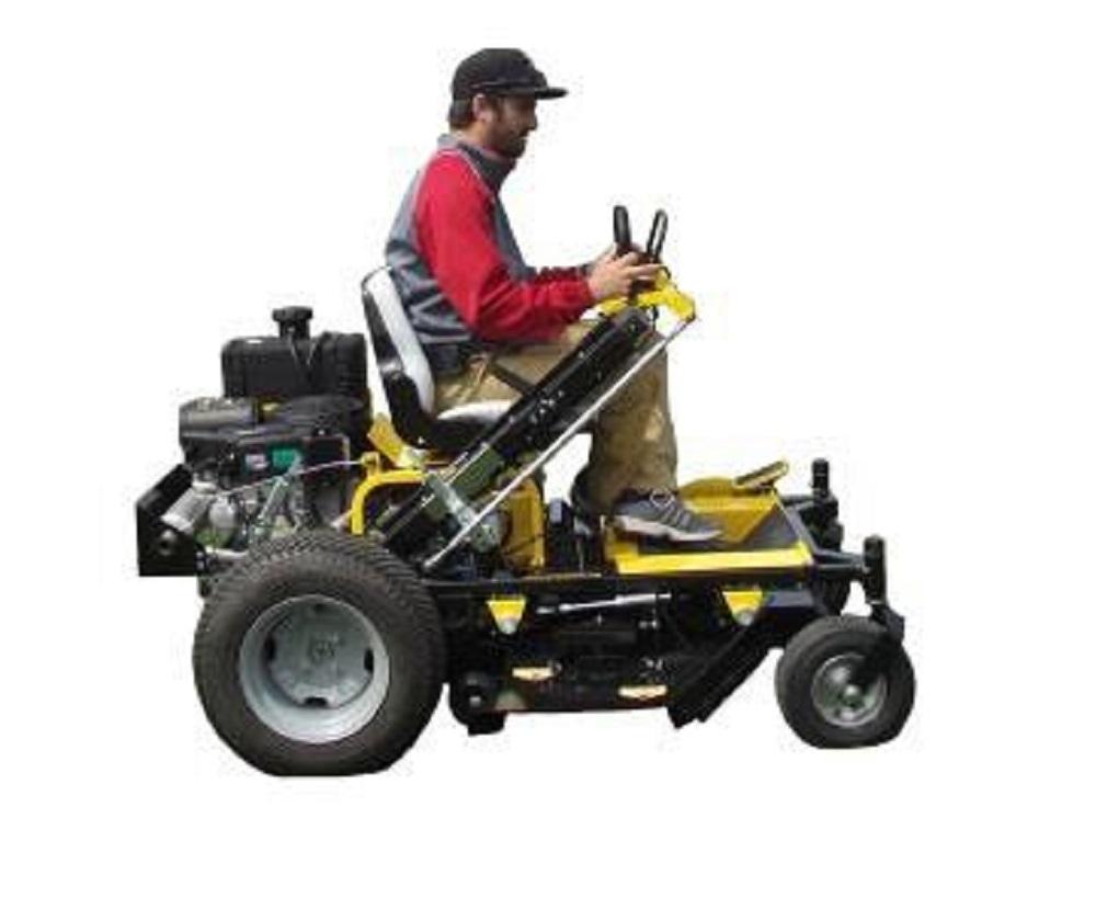 48 Zero Turn Riding Walk Behind Lawn Mower Briggs