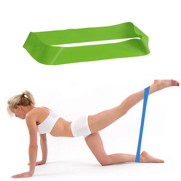 Exercise Bands Loops: Ultra Light/Med/Heavy Resistance Band Exercise Thigh Loop