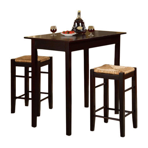 Counter Height Kitchen Tables Small Spaces : ... Counter Height Dining Set Furniture Small Kitchen Table Breakfast 3
