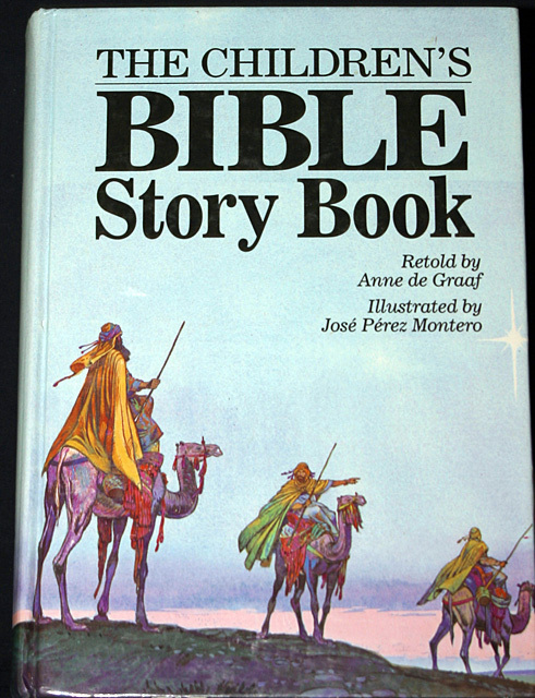 The Children's Bible Story Book 1992 HB - Children's Books