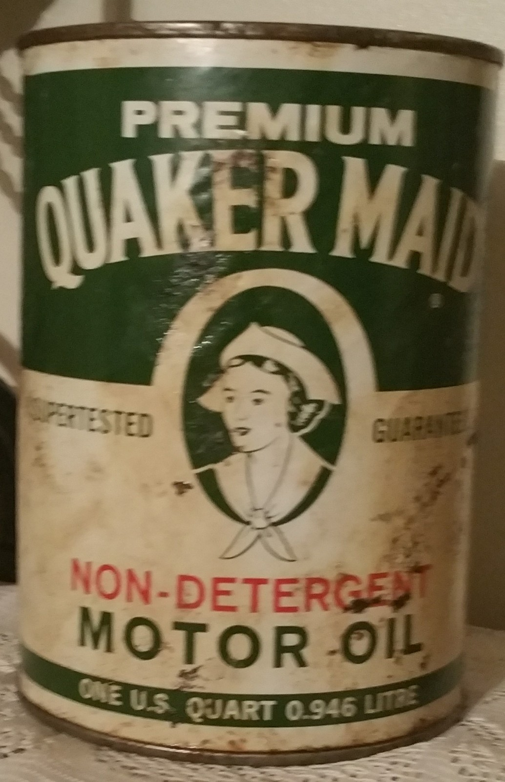 Quaker state motor oil can for sale only 4 left at 70 for Sale on motor oil