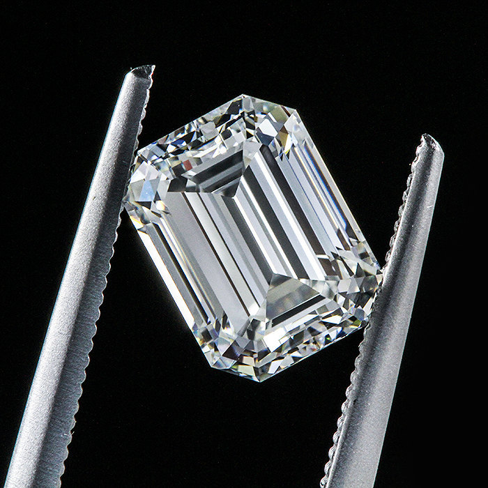 loose diamond 312ctw emerald cut diamond gvs1 natural