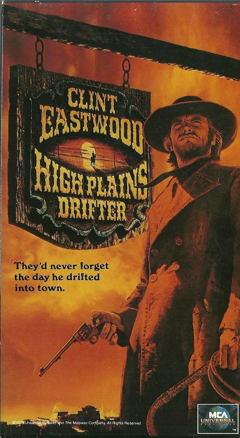 high plains drifter vhs clint eastwood verna bloom