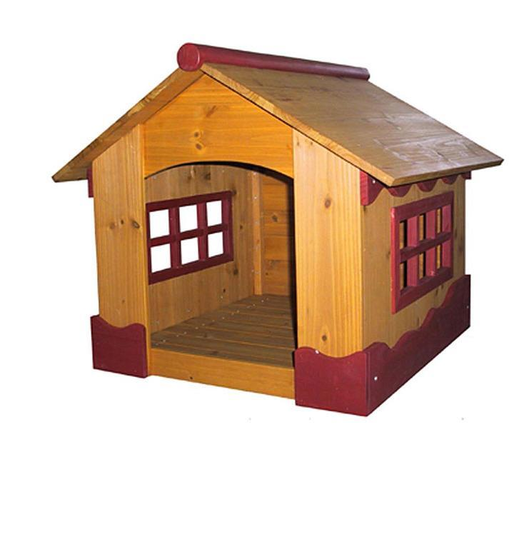 Rugged Large Dog House: Outdoor Dog Houses Large Wooden Cabin Pet Kennel Durable