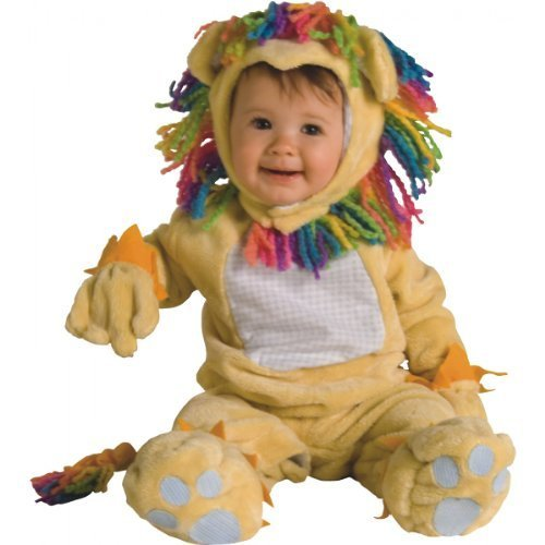 Image 0 of Rubie's Costume Co NLP Fearless Lil'Lion Costume, 6-12 Months