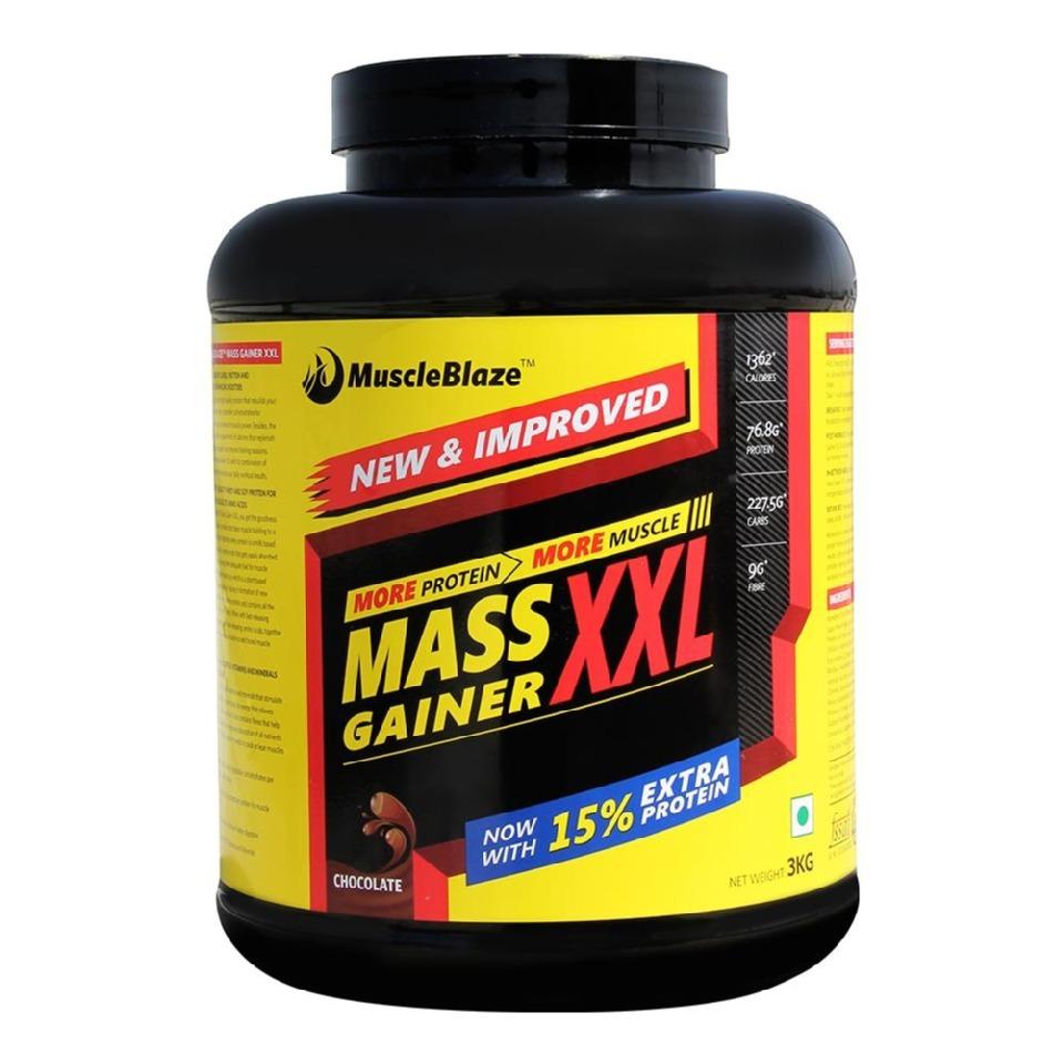 Muscleblaze mass gainer india