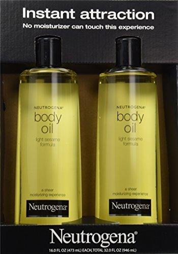 pack of neutrogena body oil light sesame formula 2 16 fl oz. Black Bedroom Furniture Sets. Home Design Ideas