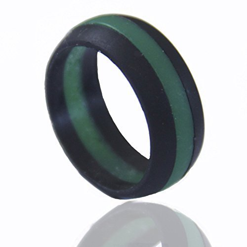 men 39 s silicone wedding band safe and durable silicone On mens safety wedding bands