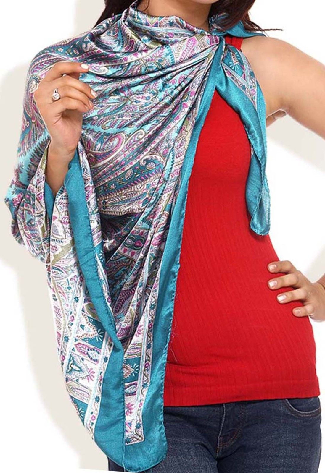 wholesale 50 silk scarf stole square scarves mixed lots