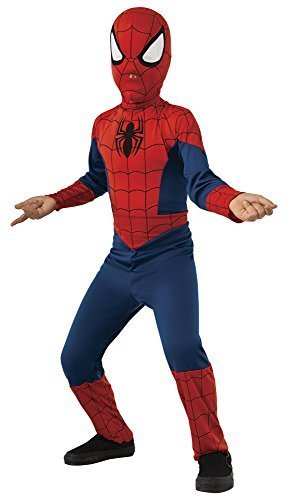 Image 0 of Rubie's Marvel Ultimate Spider-Man Costume, Child, Red, Blue