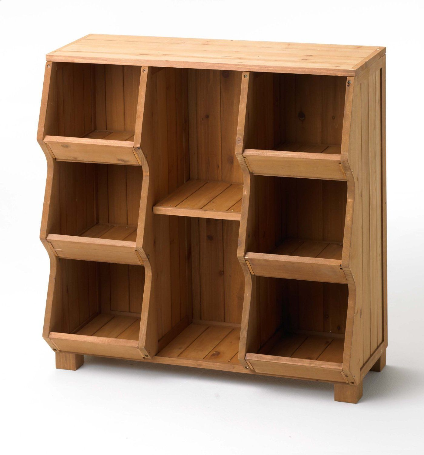 wood storage cabinet single tall stackable home shelf toy. Black Bedroom Furniture Sets. Home Design Ideas