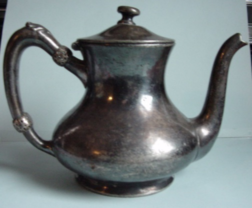 Reed and Barton Silver Coffee Pot 875 2 Portion  Marked Osborne Hotel