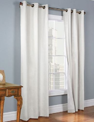 White Blackout Curtains Target Yellow Chevron Room Darkeni