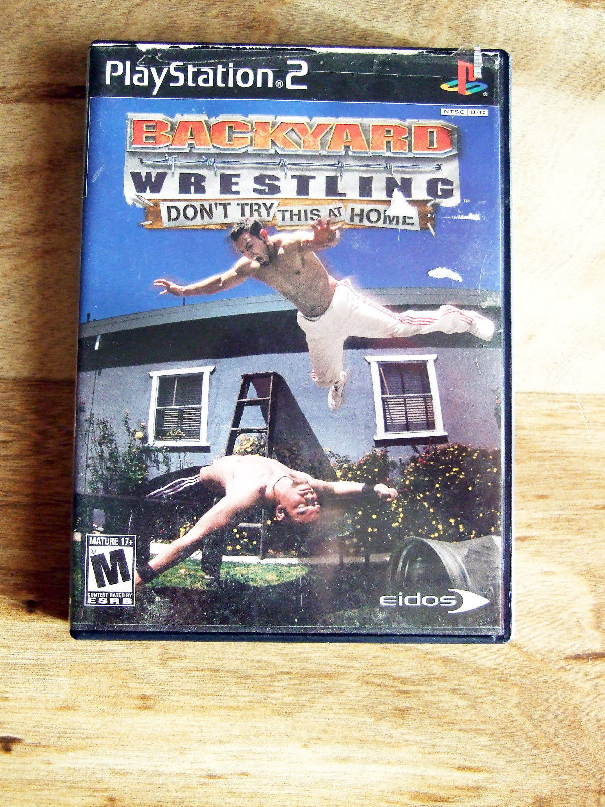 backyard wrestling don 39 t try this at home sony playstation 2 2003