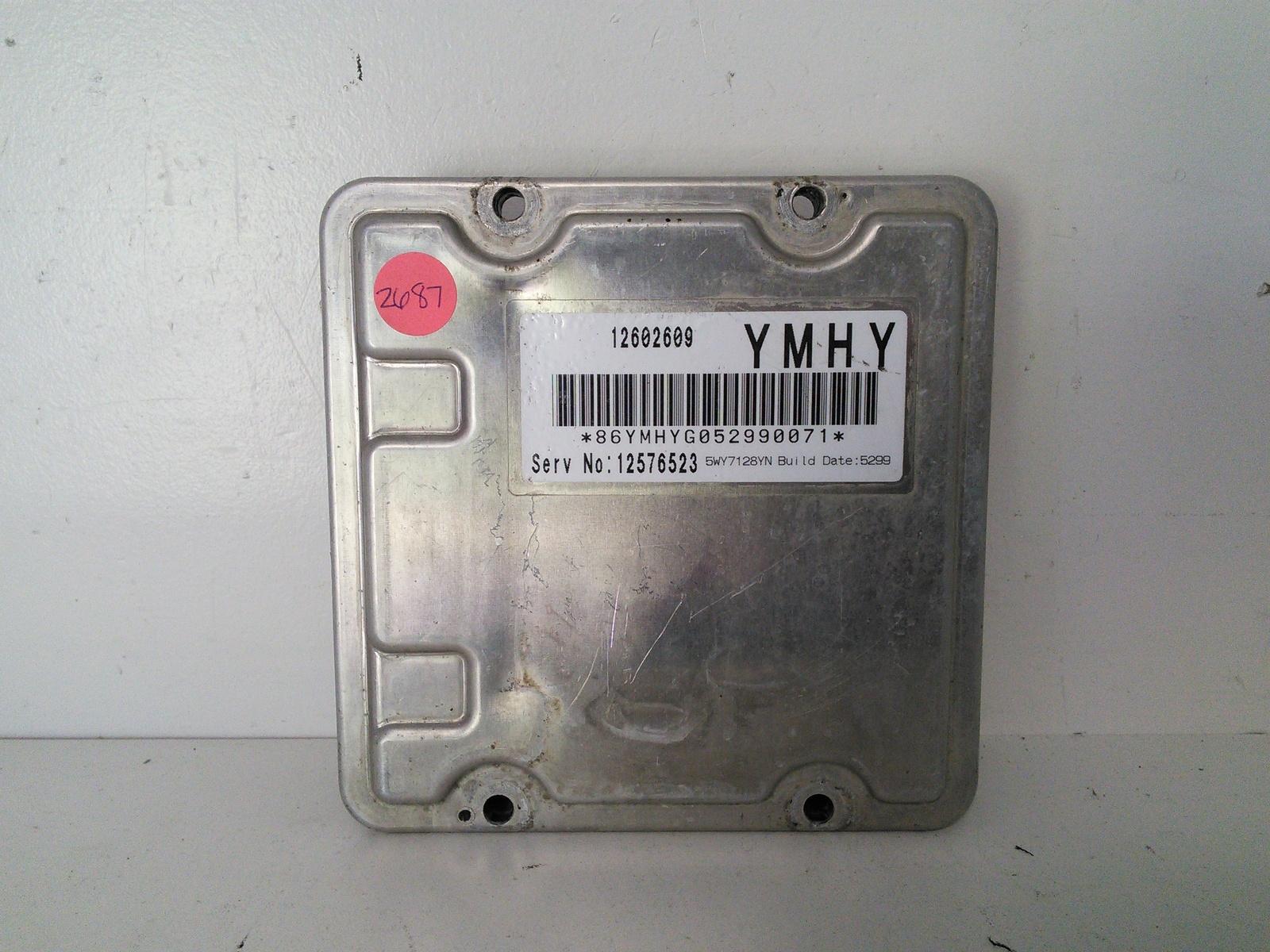Cadillac Xlr Sts Srx Ecm Ecu Engine Computer L L