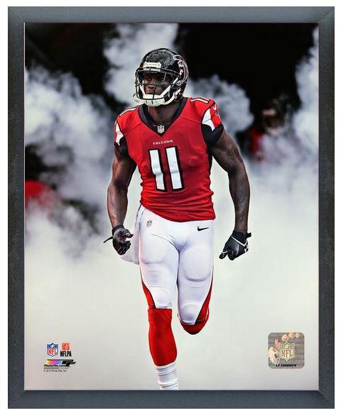 "Julio Jones 2013 Atlanta Falcons -11"" x14"" Photo in a ...  Julio"