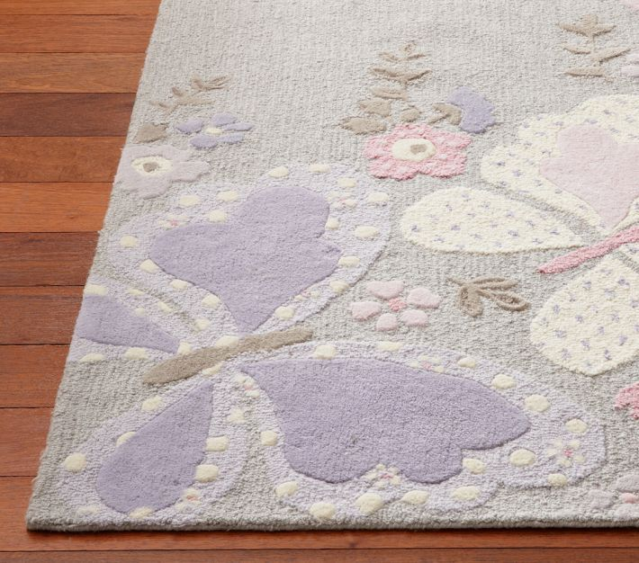 New Pottery Barn Kids Gabrielle Kids Area Rug 8x10 Rugs