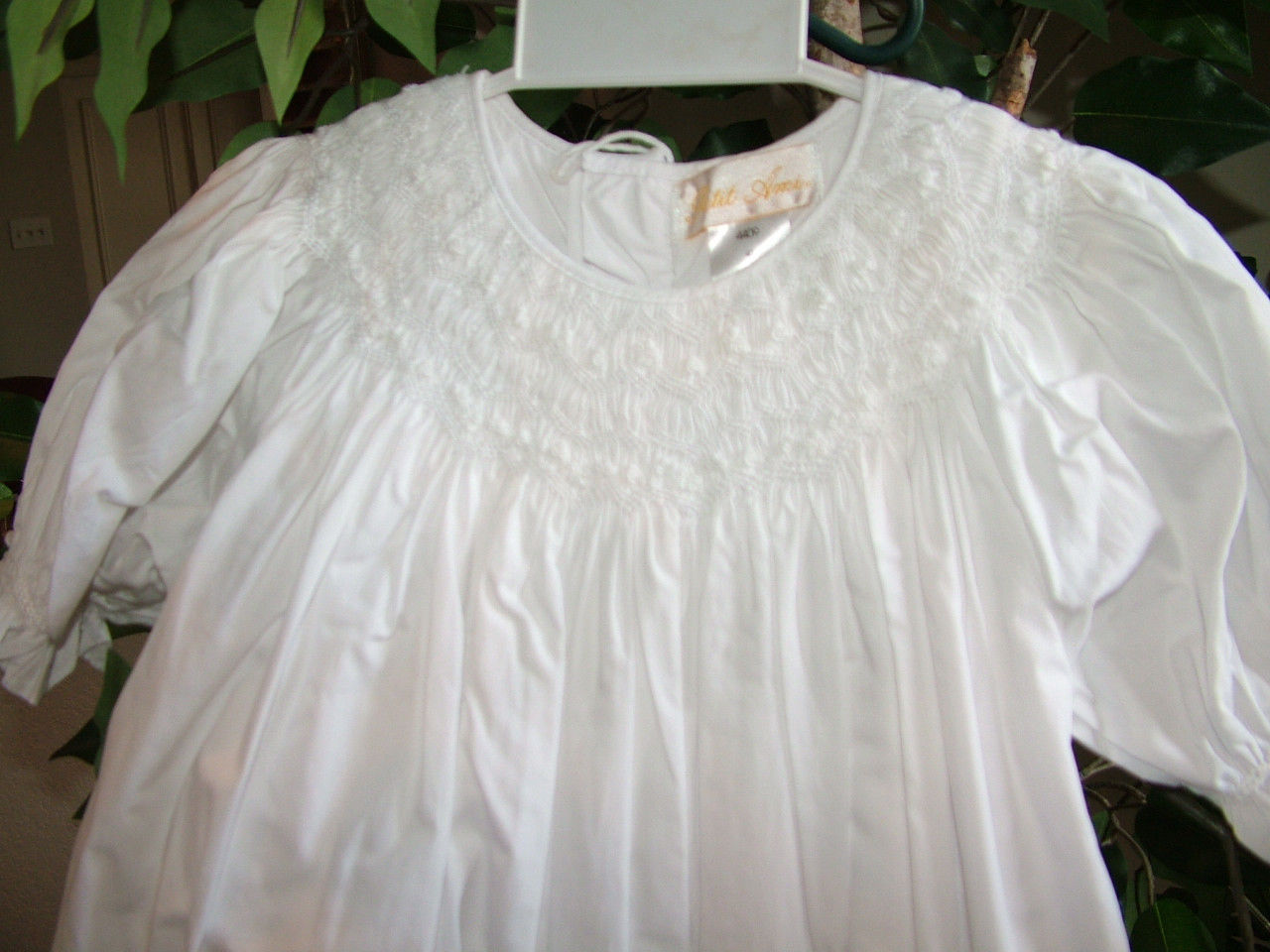 Image 2 of Gorgeous Petit Ami White Heirloom Boutique Lined Party Dress, Wedding - White -