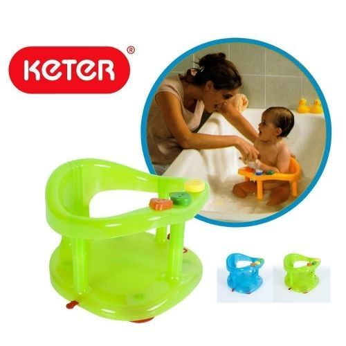 ring bath baby tub seat new keter infant anti slip chair safety bath tub seats rings. Black Bedroom Furniture Sets. Home Design Ideas