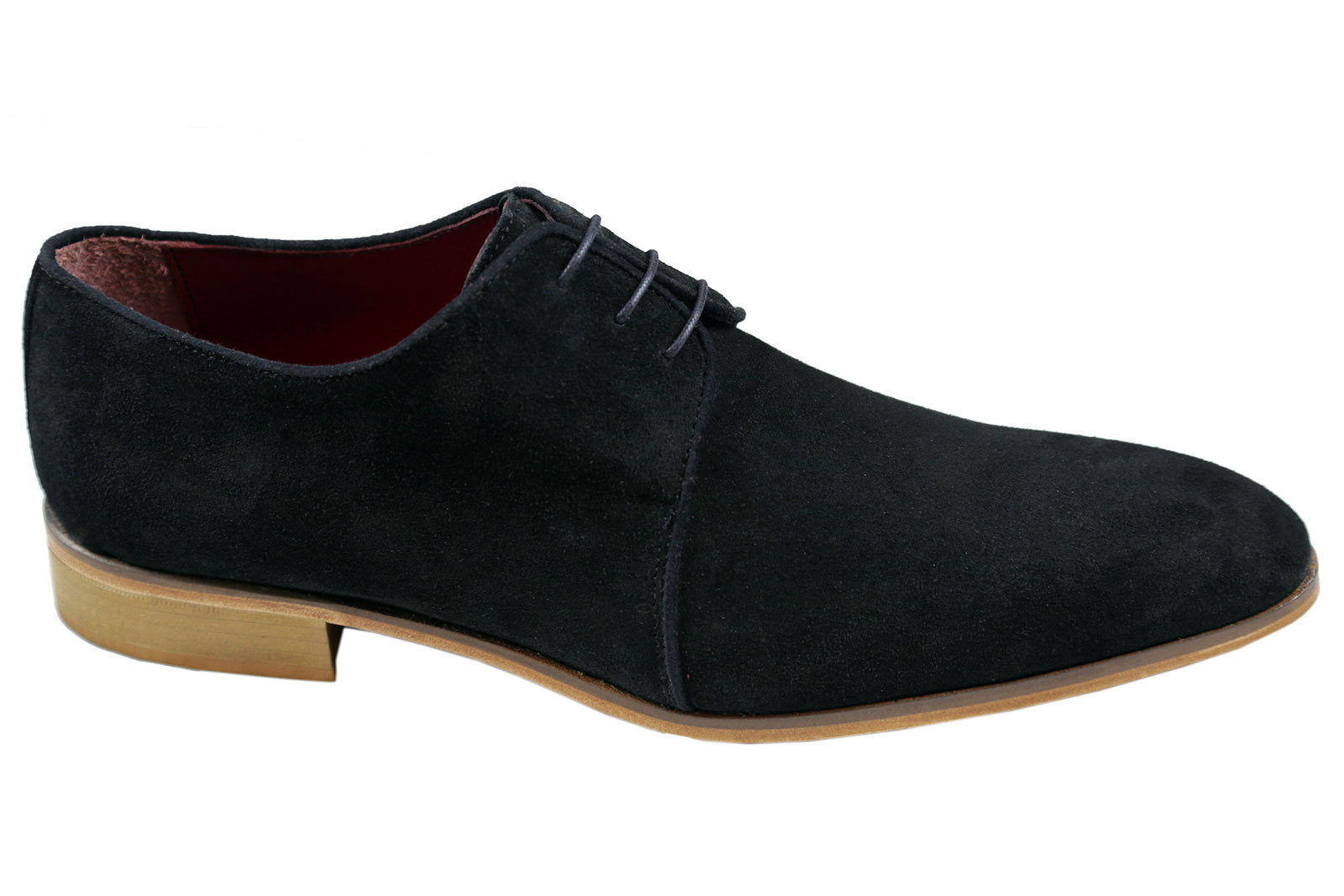handmade mens derby shoes men formal shoes men black