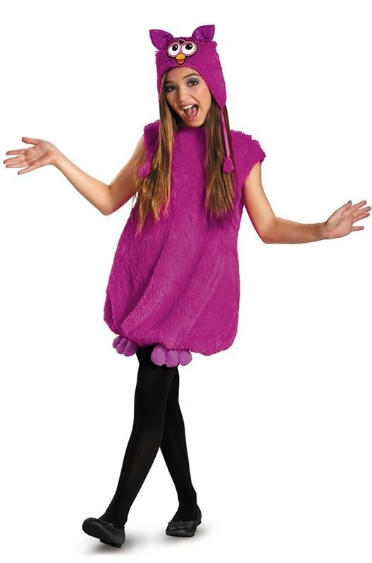 Fun Purple Voodoo Furby Deluxe Trendy Tween Costume Polyeser Dress by Disguise -